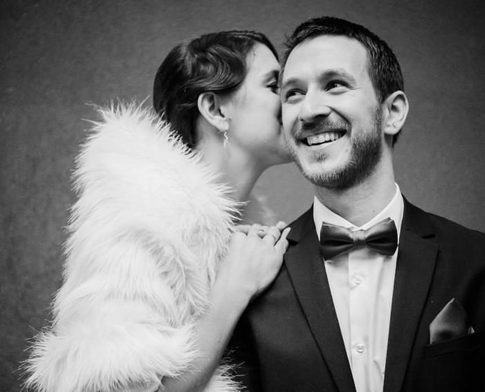 Vintage téli esküvő | Zsuzsi & Ricsi