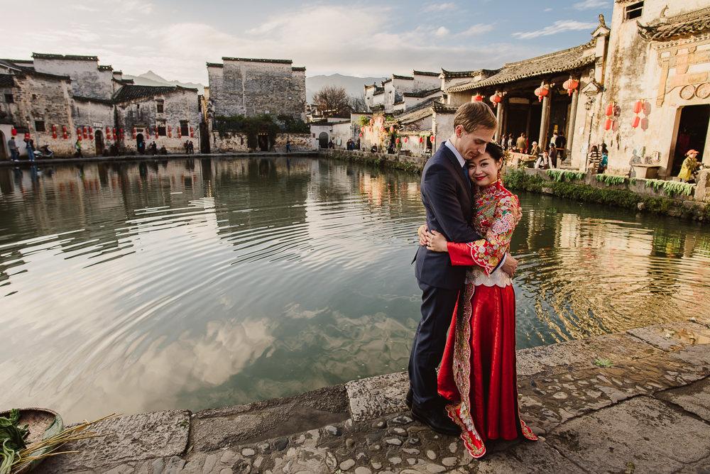Tian & Levi | esküvői fotózás Kínában