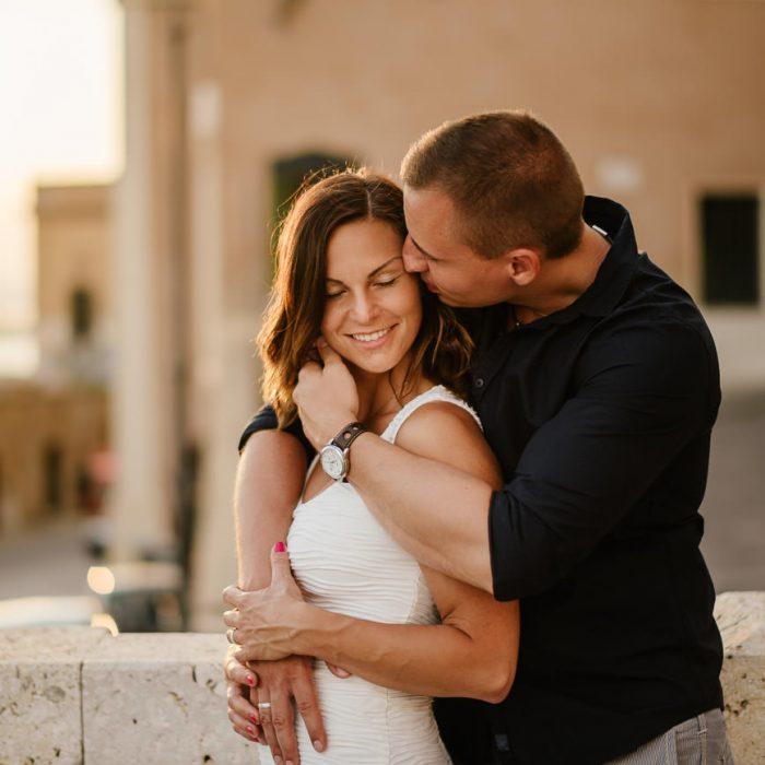 Romantikus fotózás Szardínia fővárosában